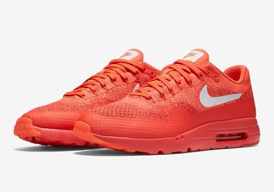 "Nike Air Max 1 Ultra Flyknit ""Bright Crimson"""