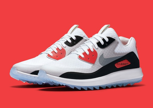 The Nike Air Max 90 Golf Shoe Goes Classic Infrared