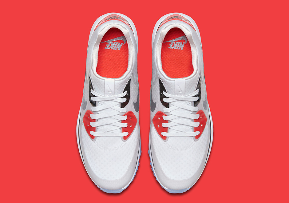 f2edf83e46 Nike Air Max 90 Golf Shoe Infrared | SneakerNews.com