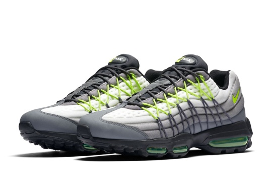 "Nike Rebuilds The Nike Air Max 95 ""Neon"""