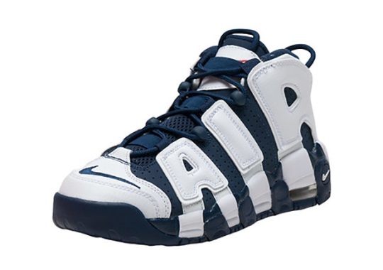 "The Nike Air More Uptempo ""Olympic"" Released Early In Kids Sizes"