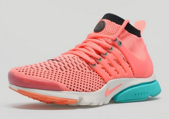 The Nike Presto Flyknit Takes On Tropical Colors