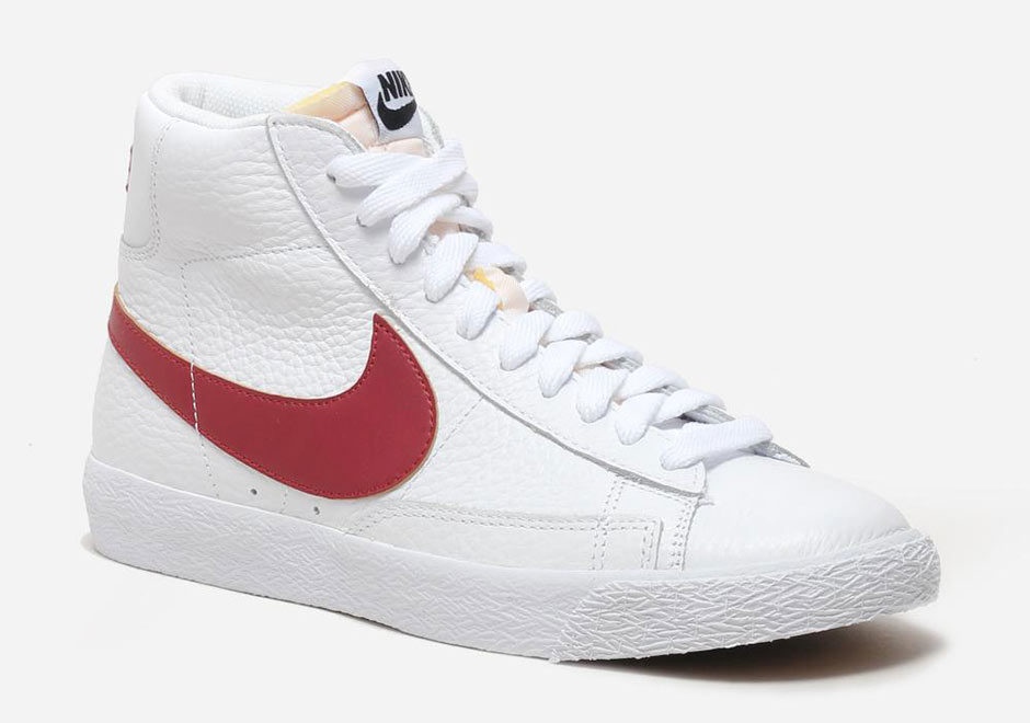 Chaussures Nike Blazers Blancs Dorigine