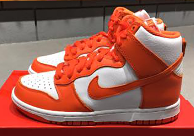 "low priced 17340 0d7ea If youve been excited to see the original ""Be True To Your School"" Nike  Dunk Highs back on the shelves, youll be happy to know that the college  colorways ..."