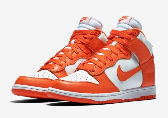 "Nike Dunk High Retro QS ""Syracuse"""
