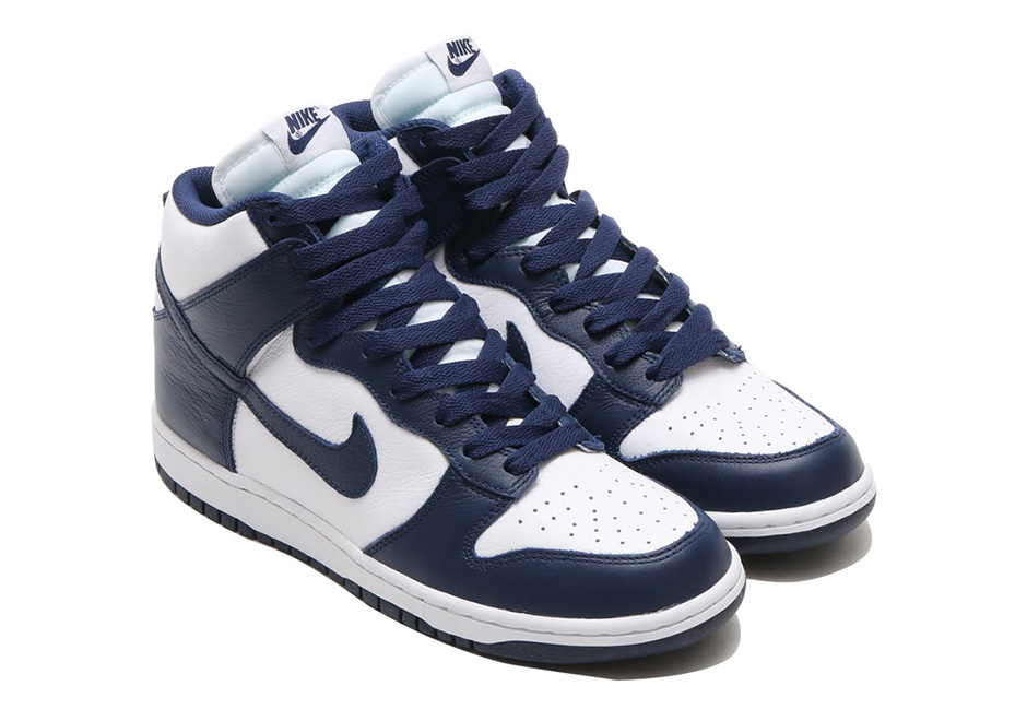 "reputable site 4d307 be578 Nike Dunk High Retro QS ""Villanova"""