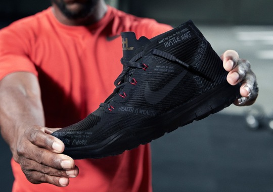 """Kevin Hart's Nike """"Hustle Hart"""" Shoes Release This Weekend"""