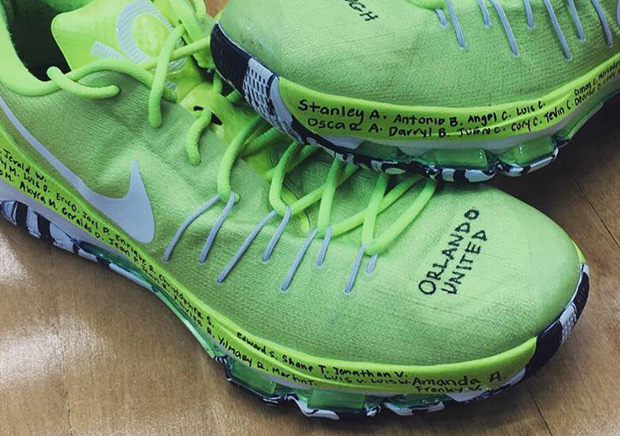 WNBA First Pick Breanna Stewart To Pay Tribute To Orlando Victims With Special Nike KD 8 Shoe