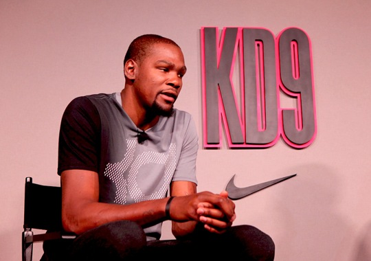 Kevin Durant Talks New Shoes, Free Agency, The Playoffs, And More At Nike KD 9 Launch