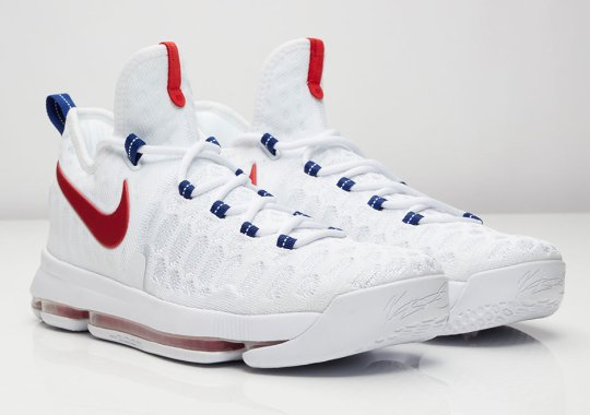 Kevin Durant's Nike KD 9 For the 2016 Olympics Can Be Yours Tomorrow