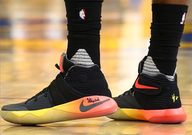 "Nike Kyrie 2 ""Gradient"" NBA Finals PE | SneakerNews.com"
