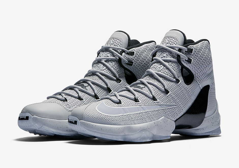 "reputable site a1d31 0fde5 Nike LeBron 13 Elite ""Wolf Grey"" Releases Before Game 3"