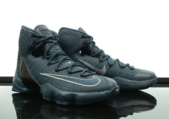 "Nike Drops A Brand New LeBron 13 Elite ""Squadron Blue"""