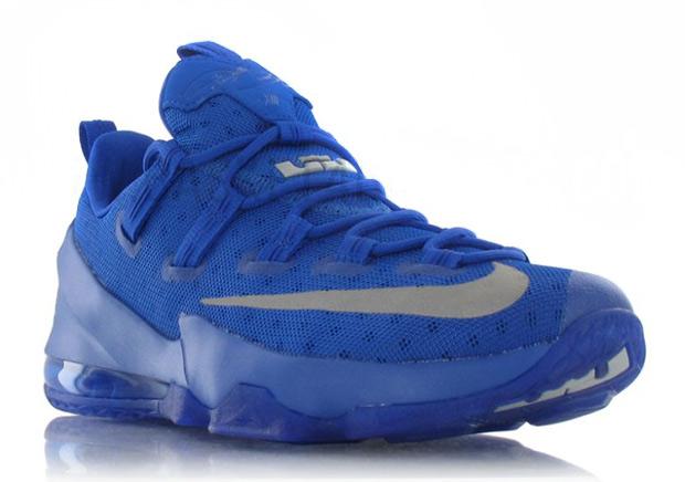 669b33379431 Tonal Royal Blue Hits The Nike LeBron 13 Low