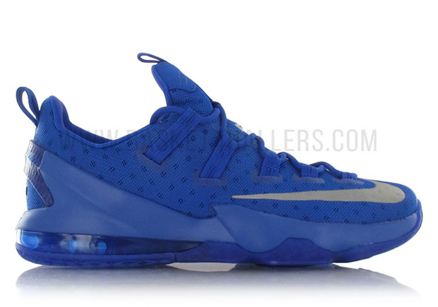 d3b69fcd66176 Nike LeBron 13 Low. Color Game RoyalGame Royal-Dark Grey Style Code 831925-  ...
