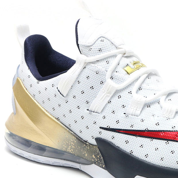 official photos a407f f4781 Nike LeBron 13 Low USA 831926-164 | SneakerNews.com