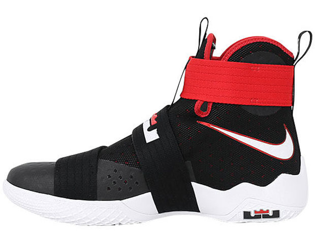 the latest 5b8b3 89844 Nike LeBron Soldier 10 Bred 844374-016 | SneakerNews.com