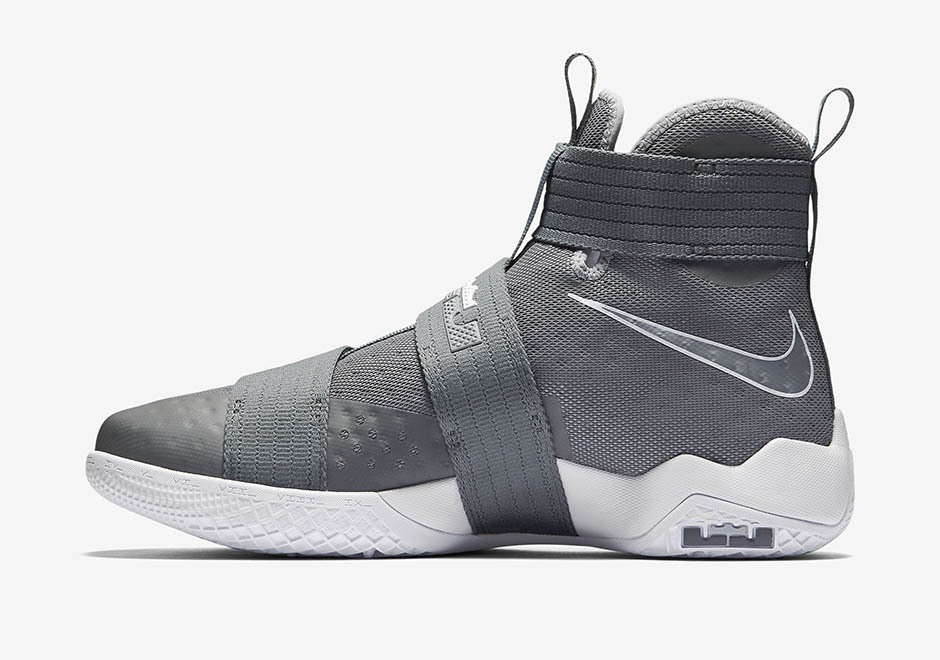 low priced f0056 6d6a8 Nike LeBron Soldier 10 Cool Grey 844374-002 | SneakerNews.com