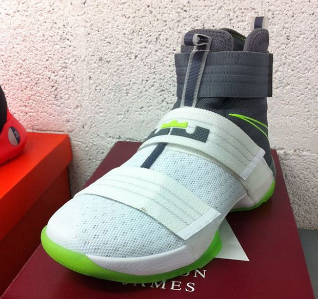 ... coupon for green blue white basketball shoes nike lebron soldier 10  dunkman a196e ed00c 11dc38a7d4