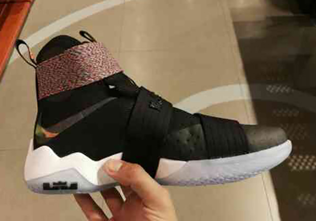 promo code 55c07 d95c1 ... switzerland nike lebron soldier 10 on feet preview sneakernews 5c199  05211 ...