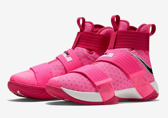 """Think Pink"" Hits The Nike LeBron Soldier 10"