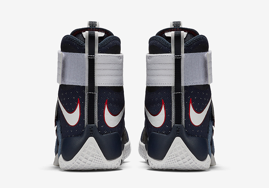 save off a1423 e7b37 Nike LeBron Soldier 10 Olympic USA 844379-416   SneakerNews.com