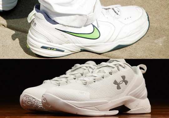 "The Nike Air Monarch vs. The ""Fire"" Curry 2 Low"