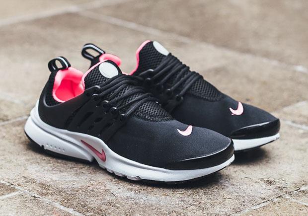 Nike PResto GS Black Hyper Pink 833878