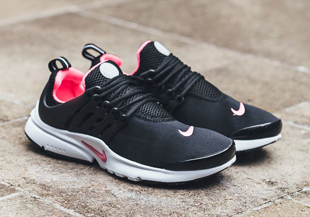 7e2326fe46d1 Nike PResto GS Black Hyper Pink 833878-061