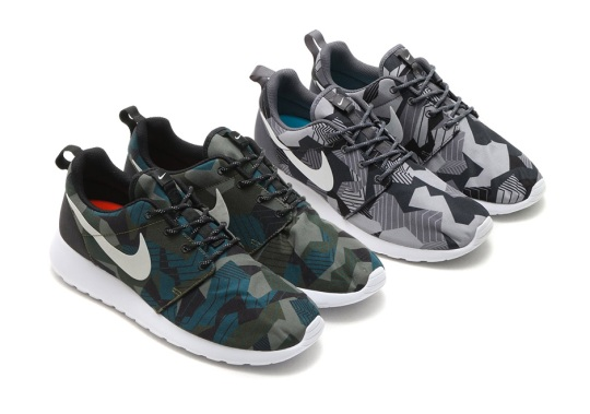 "Nike Creates A New Style Of ""Camo"" Print For The Roshe One"