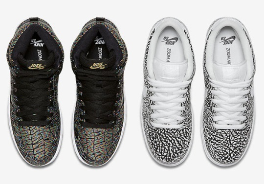 Elephant Print, Psychedelic Graphics, And More Coming To Nike SB Dunks Soon