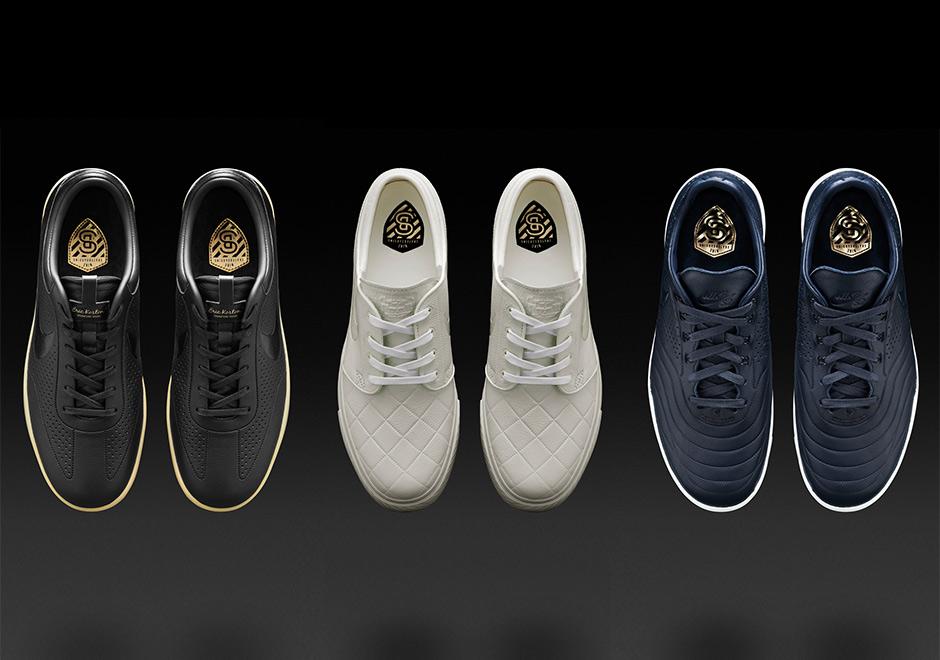 Details zu Nike ZOOM ERIC KOSTON SBXFB Herren Leder Sneaker