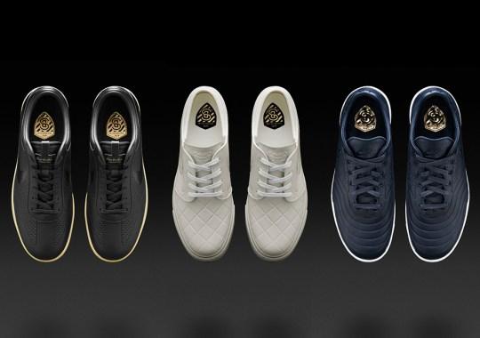 "Nike Skateboarding Crosses Over With Soccer For Three Premium ""FB"" Models"