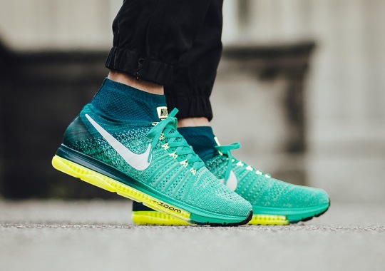 """Nike Zoom All Out Flyknit """"Clear Jade"""""""