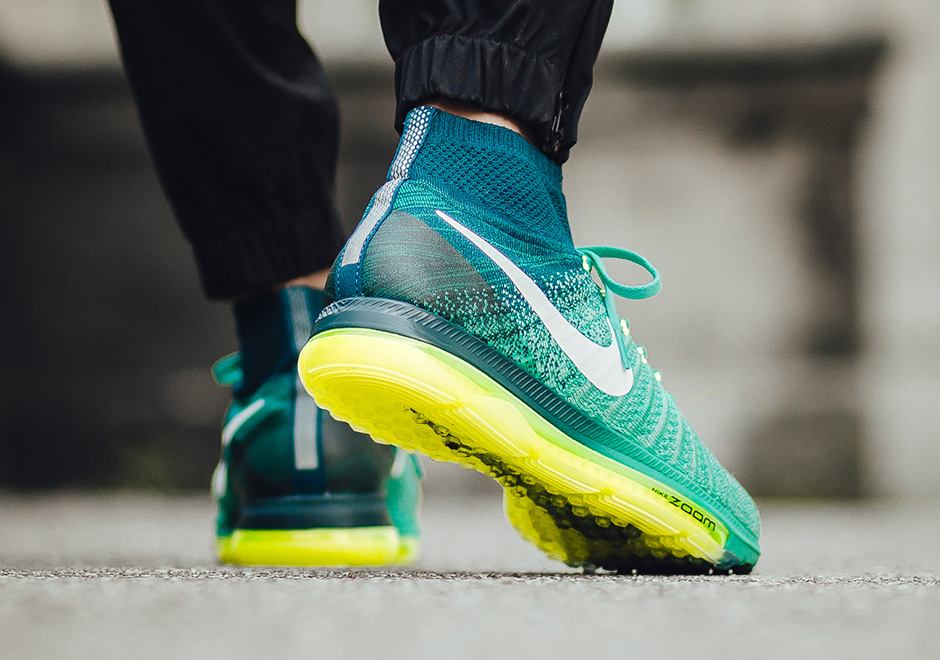 promo code 9ac4a bb157 ... promo code for nike zoom all out flyknit clear jade sneakernews da668  53d4a