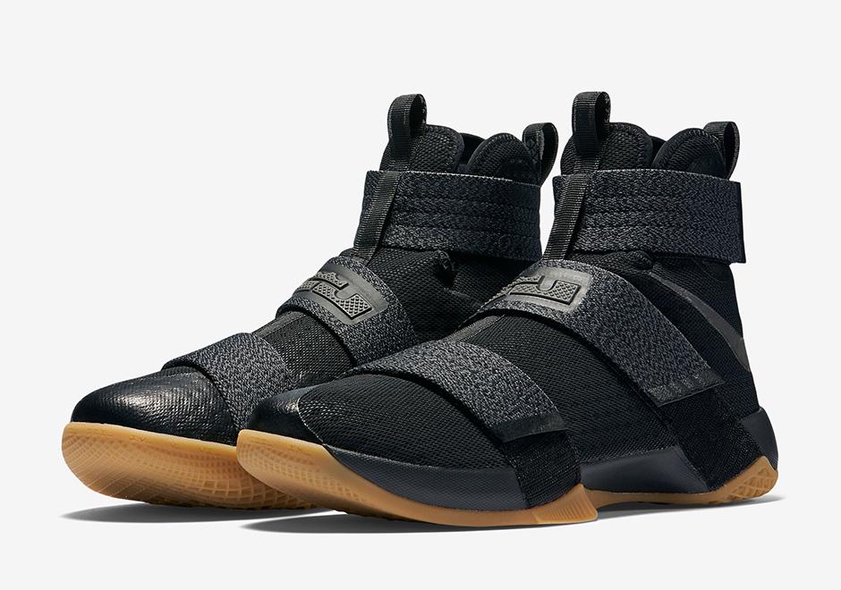 Nike LeBron Soldier 10 Black Gum 844378-009 | SneakerNews.com