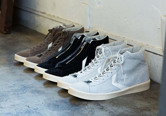 Japan's nonnative Designs The Converse Pro Leather In Three Ways