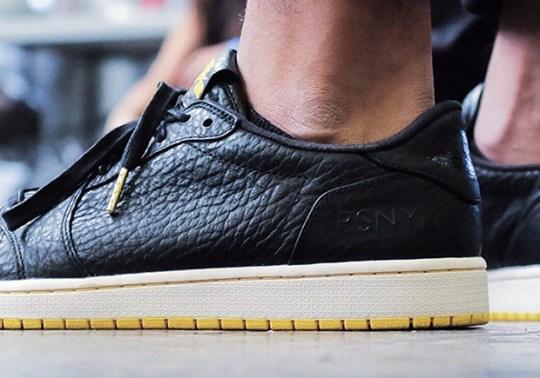 PSNY Next's Jordan Collaboration Is The Swooshless Air Jordan 1