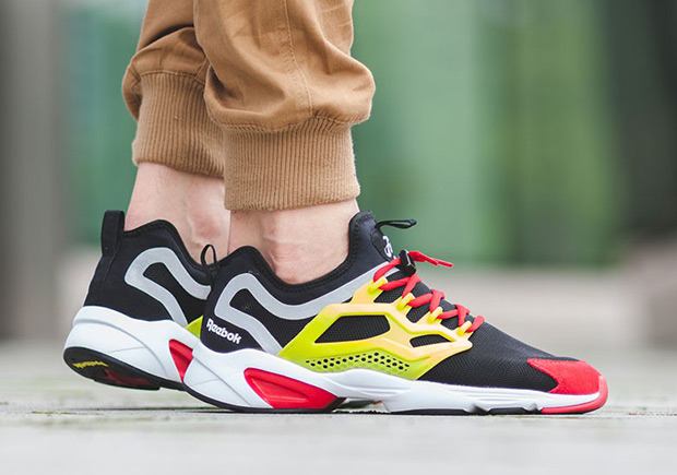 ... and now Reebok presents another new modern interpretation of the iconic Instapump  Fury with this intriguing model dubbed the Fury Adapt. e2eb6df43
