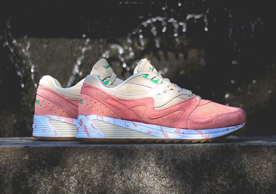 Saucony Grid 8000 Lobster