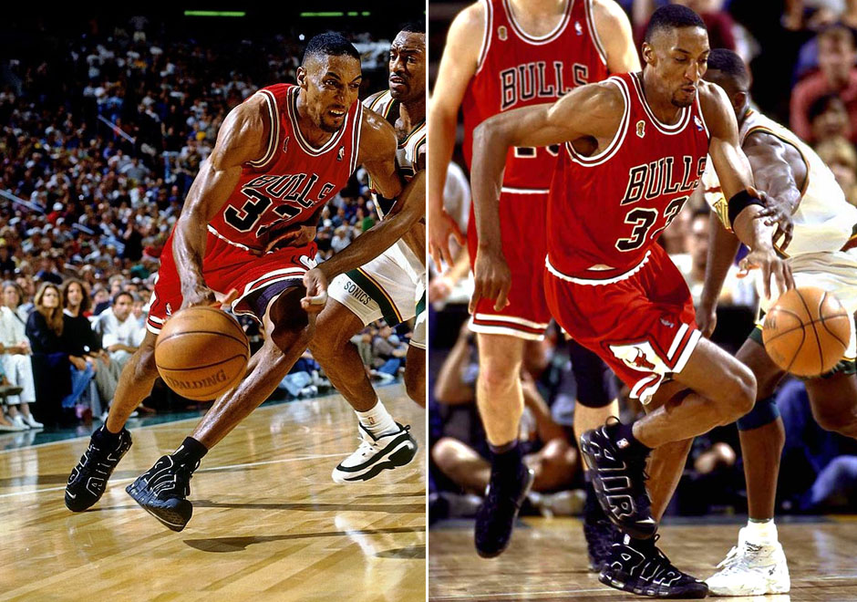 20f85e2e13 Flashback to '96: NBA Finals Sneakers of the Chicago Bulls Big Three ...