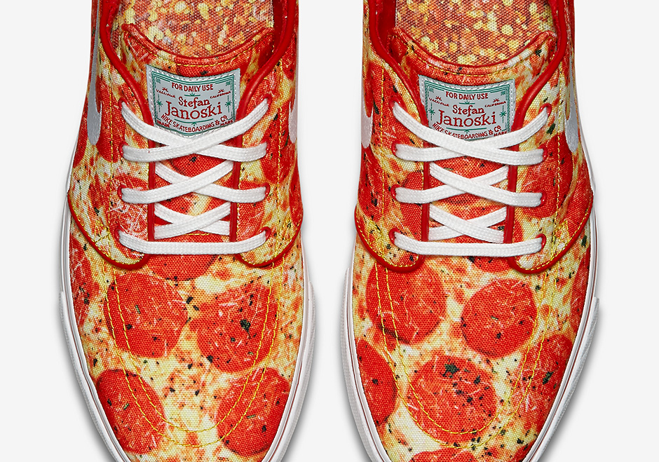 sports shoes c2543 fea7c Advertisement. The Bay Area s own Skate Mental is throwing a pizza party  atop the Nike SB Janoski ...