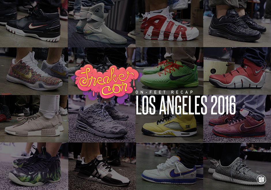 The Best On-Feet Sneaker Heat At Sneaker Con Los Angeles With BET Live
