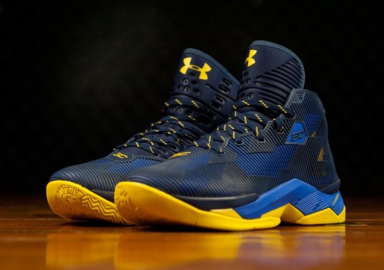 "Under Armour To Release A ""Dub Nation"" Colorway Of The Curry 2.5"