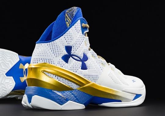 Under Armour Releases Curry 2 Inspired By Golden State's First NBA Title In Forty Years