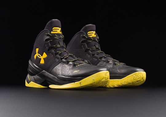 "Under Armour To Release UA Curry 2 ""Black Knight"" This Weekend"