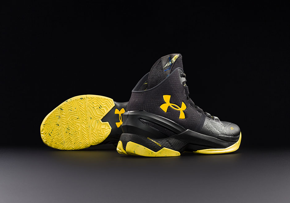 wholesale dealer 855c2 3f557 Under Armour Curry 2 Black Knight Release Info | SneakerNews.com