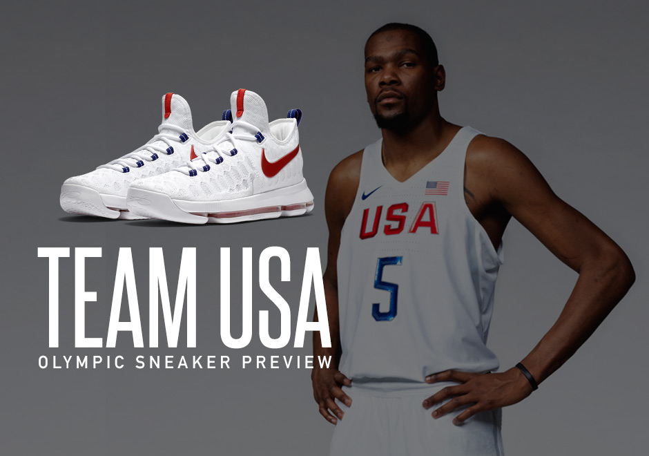 Here's What The 2016 USA Men's Basketball Team Will Wear For The Olympics -  SneakerNews.com