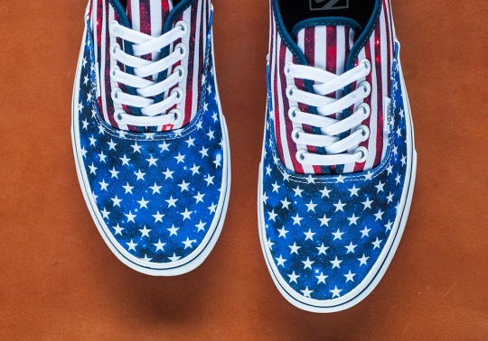 Celebrate America With The Vans Authentic Inspired By The Nation's Flag