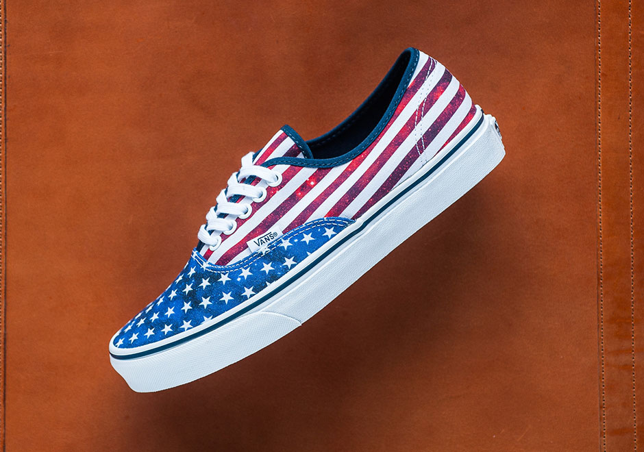 Celebrate America With The Vans Authentic Inspired By The Nation's ...